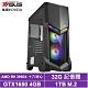 華碩X570平台[星火狂豹]R9十六核GTX1650獨顯電玩機 product thumbnail 1