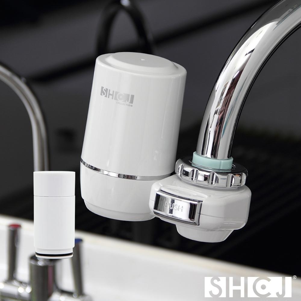 SHCJ生活采家 浴室水龍頭超濾中空絲膜淨水過濾器