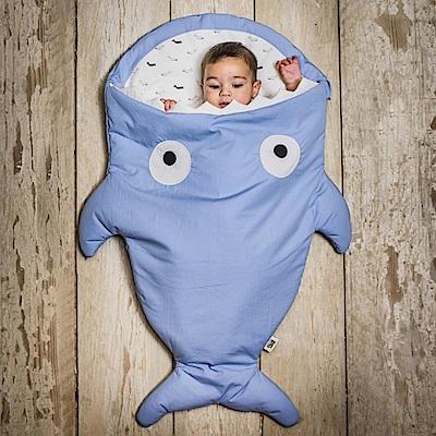 【嬰幼兒標準版-牽牛花藍】BabyBites西班牙鯊魚咬一口睡袋