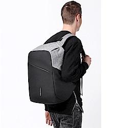 leaper KAKA防水防盜USB充電15.6吋立體電腦後背包共2色