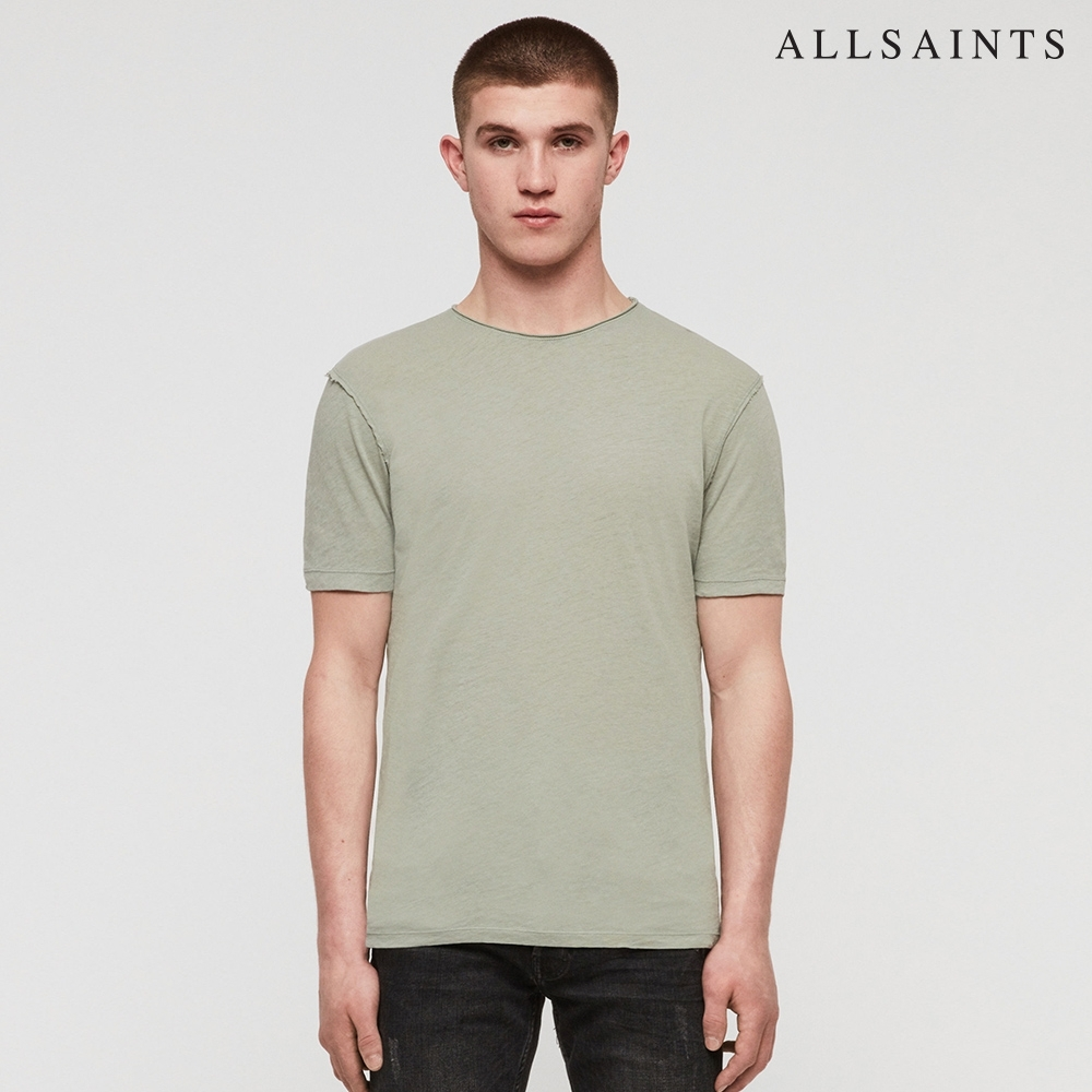 ALLSAINTS FIGURE 素面舒適純棉短袖T恤