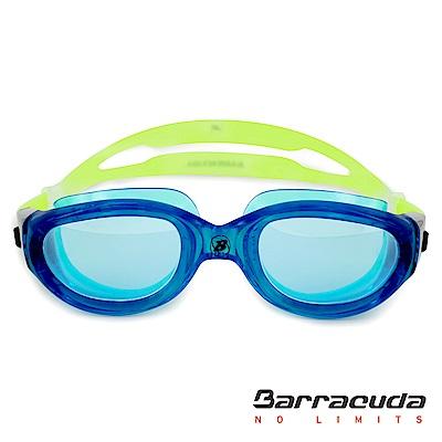 美國Barracuda成人飆速競泳系列抗UV防霧泳鏡 MANTA#13520