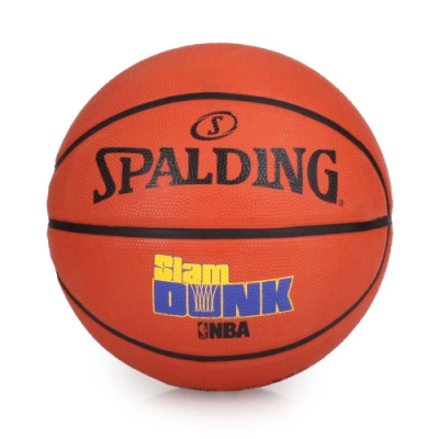 SPALDING Game Time系列-Slam Dunk 籃球 橘藍黃