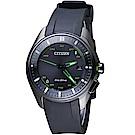 (無卡分期6期)CITIZEN星辰GENTS藍芽光動能鈦金屬限量腕錶(BZ4005-03E)