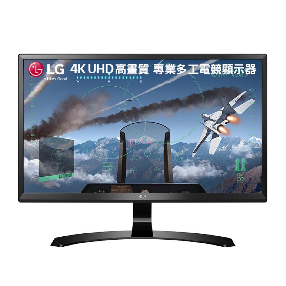 LG 24UD58-B 24型 AH-IPS 4K 電競電腦螢幕