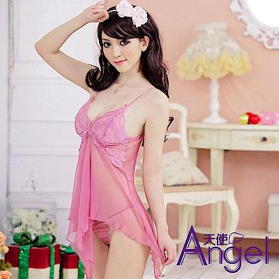 Angel天使 吊帶性感睡衣情趣內衣 BP046