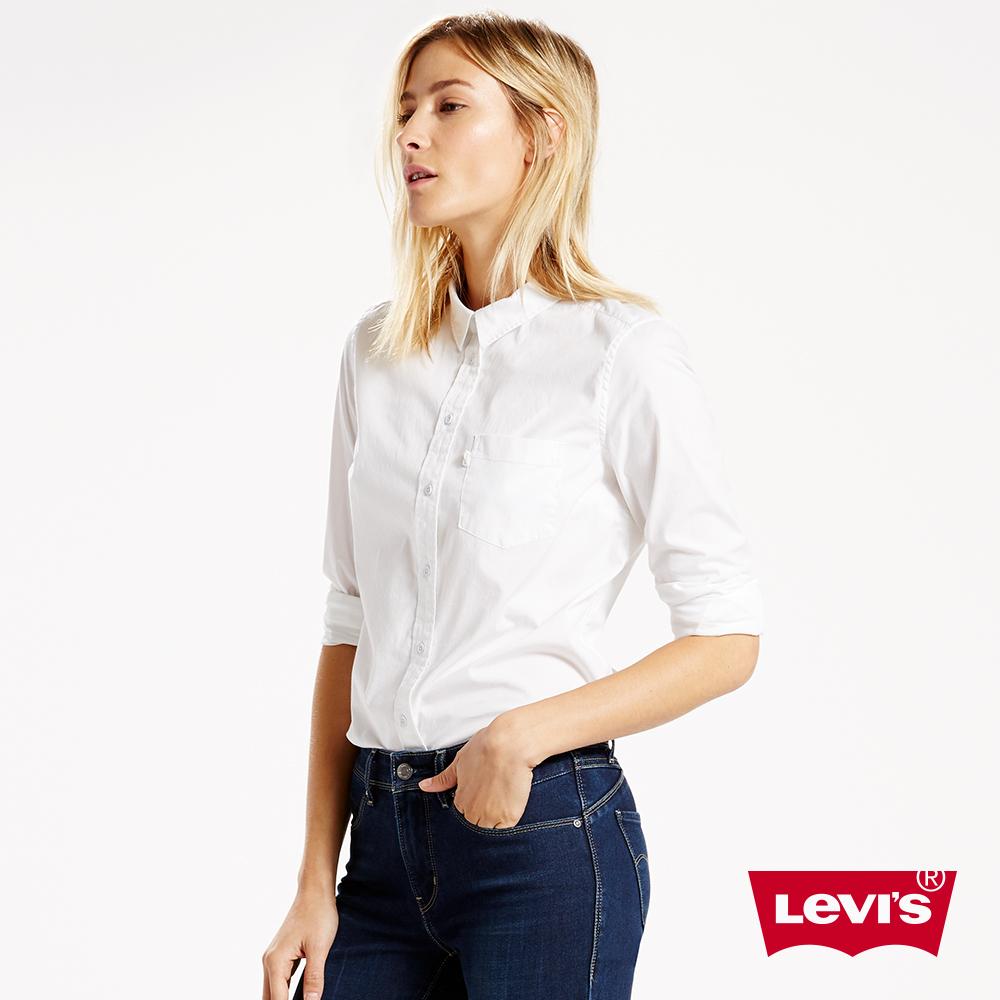 Levis 襯衫 女款/ 簡約單口袋