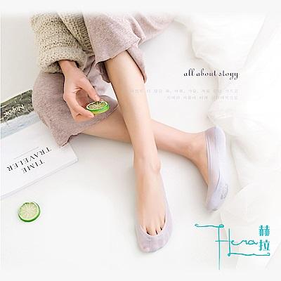 Hera 赫拉 輕薄冰絲玫瑰防滑隱形短襪/船襪