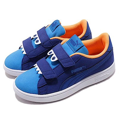 Puma 休閒鞋 Smash V2 Monster V 童鞋