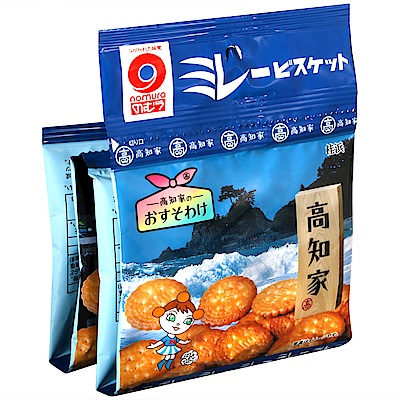 野村煎豆 4連美樂圓餅[高知家風情](120g)
