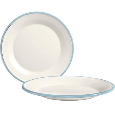 《IBILI》琺瑯深餐盤(淡藍23cm)