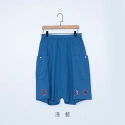 gozo 主題設計印花低檔五分褲(二色)