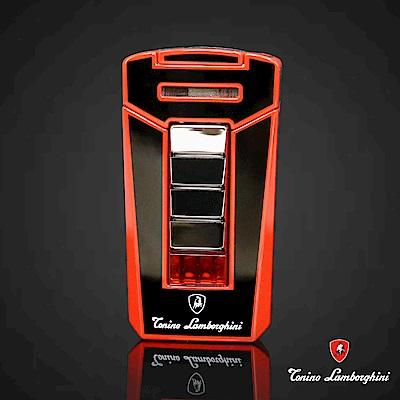 藍寶堅尼Tonino Lamborghini AERO LIGHTER 打火機(黑底紅線)