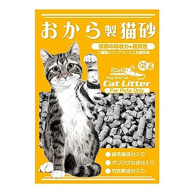 寵喵樂 環保天然竹炭味豆腐砂 7L 三包組