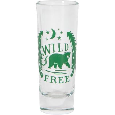 《NOW》晶透烈酒杯(森林黑熊60ml)