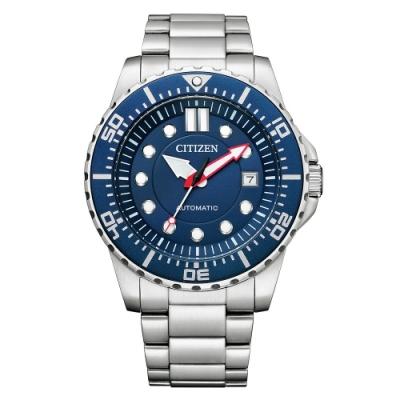 CITIZEN 星辰Mechanical經典藍面機械腕錶NJ0121-89L