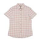 Timberland 女款短袖格子襯衫 | A1NNYE93