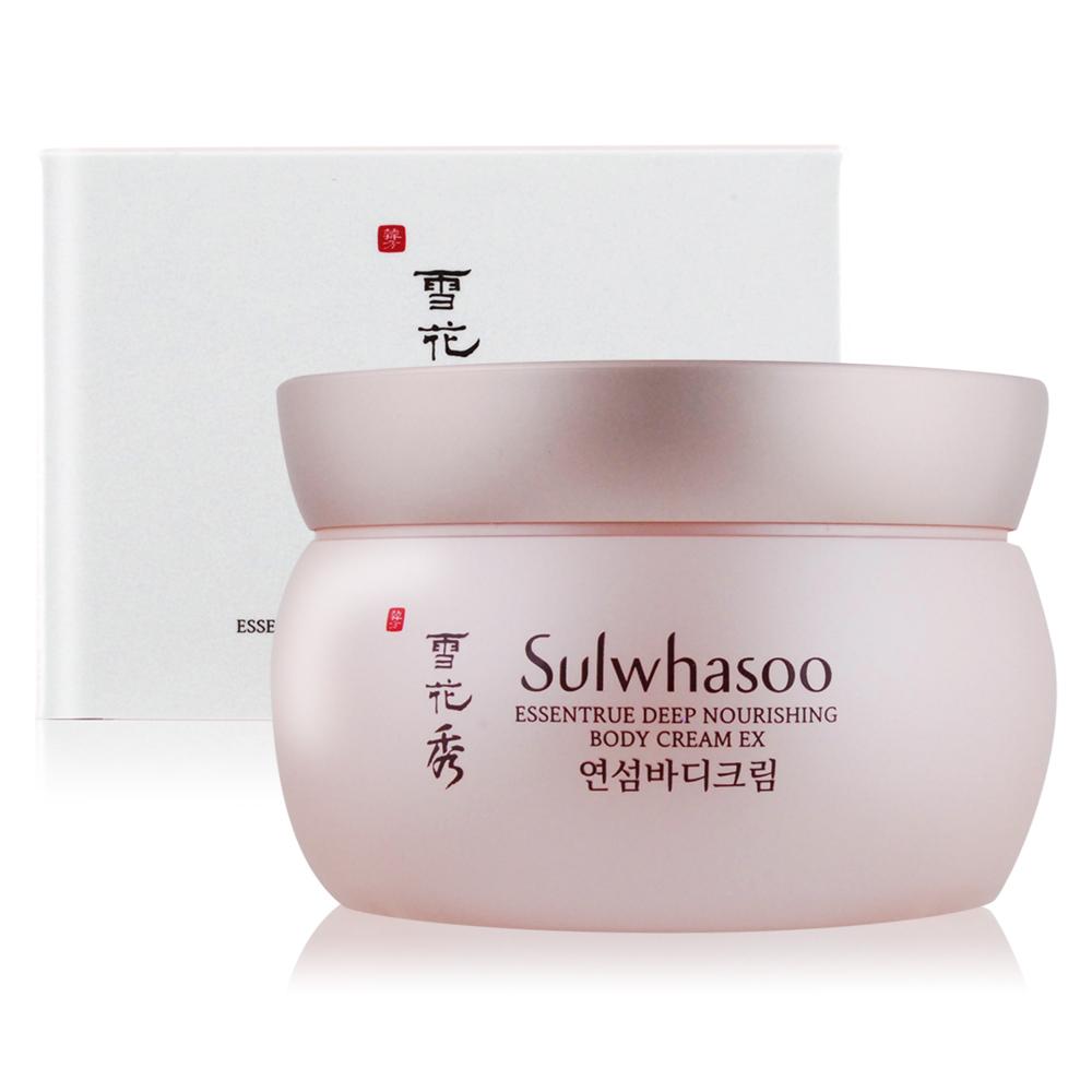 (即期品)Sulwhasoo 雪花秀 娟纖潤澤身體乳霜200ml-期效201911
