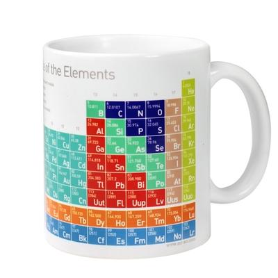 賽先生科學 科學馬克杯系列/優雅化學元素表