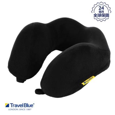 【 Travel Blue藍旅】 寧靜頸枕 / 飛機枕/ U型枕 記憶棉 Tranquillity 黑色 TB212-BK