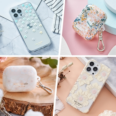 多款↘️均一價$1,111【kate spade】iPhone 13、AirPods 保護殼/套-任選