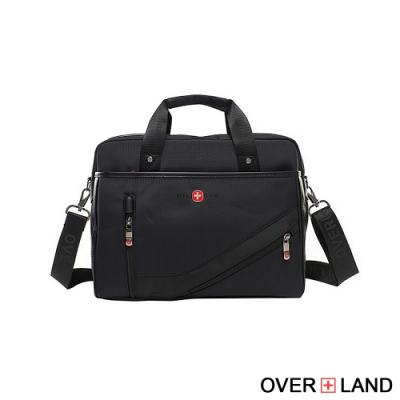 OVERLAND - 美式十字軍 - 城市漫遊2WAYS素面公事包 - 3119
