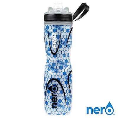 NERO FRIO 自行車雙層保冷水壺 740ml / 藍色