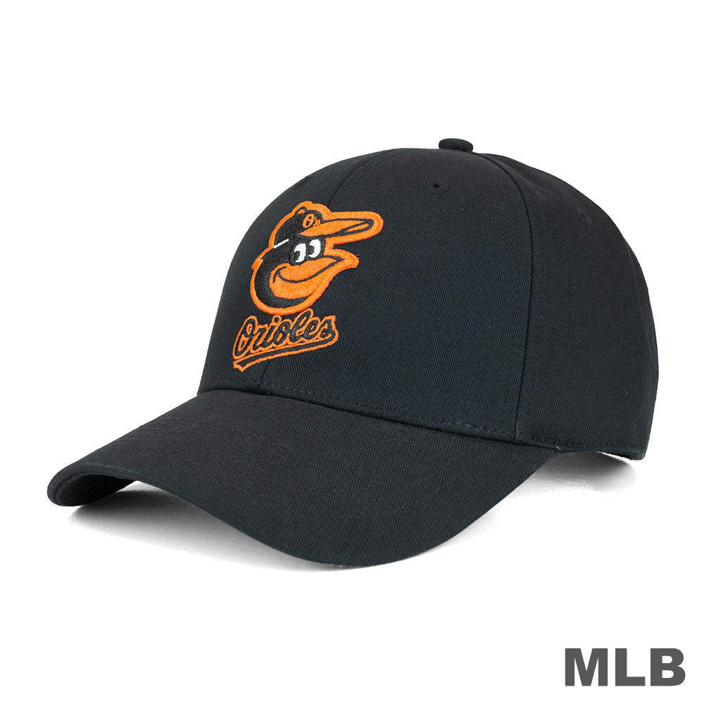 MLB-巴爾的摩金鶯隊可調式復古球帽