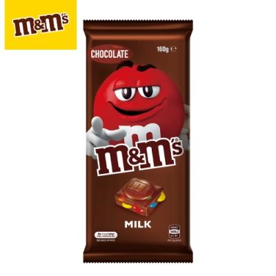 M&M S  精選片裝巧克力 牛奶口味160g