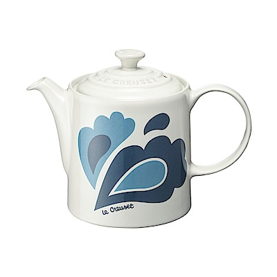 LE CREUSET 瓷器咖啡壺 (孔雀系列)
