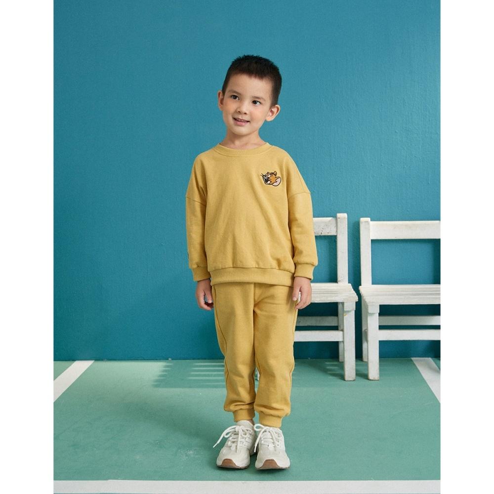 CACO-傑利鼠電繡套裝-親子款-童【C3WB005】