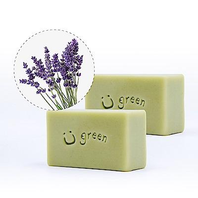 綠優園-天然植萃手工皂潤膚皂-海茴香薰衣草二入裝