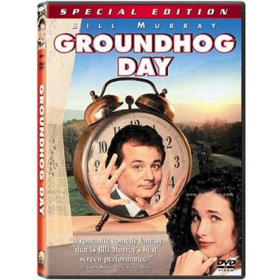 今天暫時停止 GROUNDHOG DAY  DVD