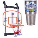 《得分射手》 組裝門掛式可調高度計分籃球架+冰霸杯組