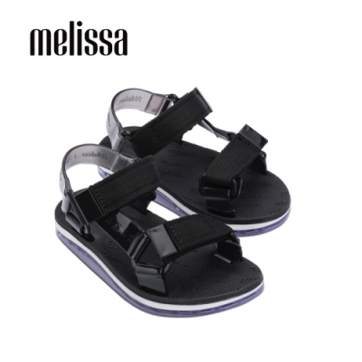 Melissa x Rider Good Time潮流休閒涼鞋 兒童款-黑