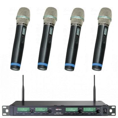 MIPRO最新4頻無線數位麥克風ACT-343取代ACT-314