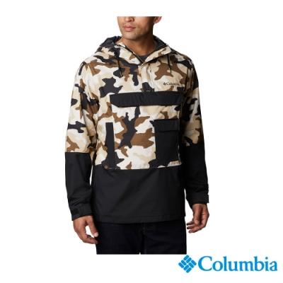 Columbia 哥倫比亞 男款 - Omni-Tech 防水外套棕-迷彩 UWE13530BU