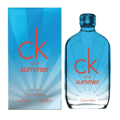 Calvin Klein One Summer 2017夏日限量版中性淡香水100ml