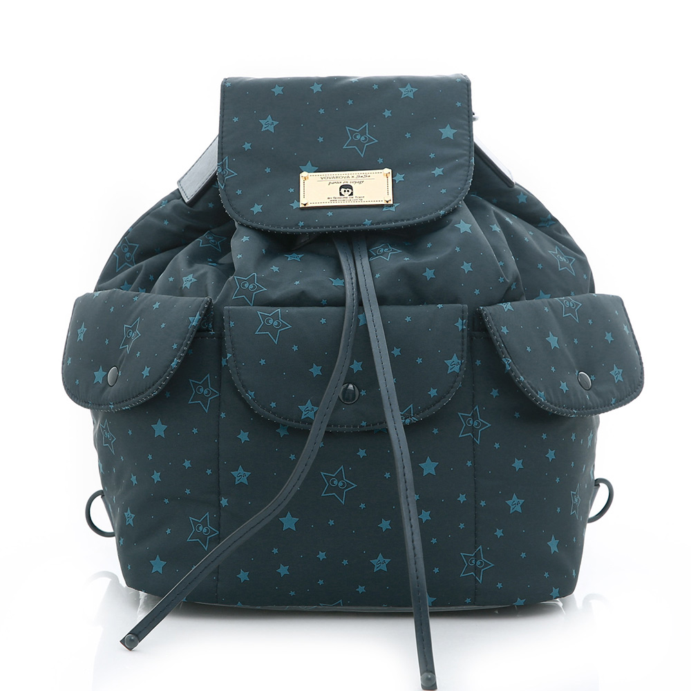 VOVAROVA-百寶袋後背包-滿天星莎-環遊世界系列