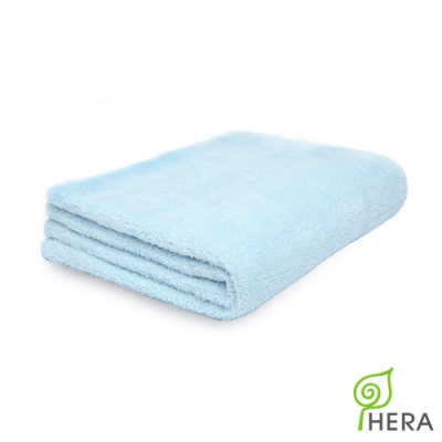 HERA 3M專利瞬吸快乾抗菌超柔纖-多功能毯-晴空藍