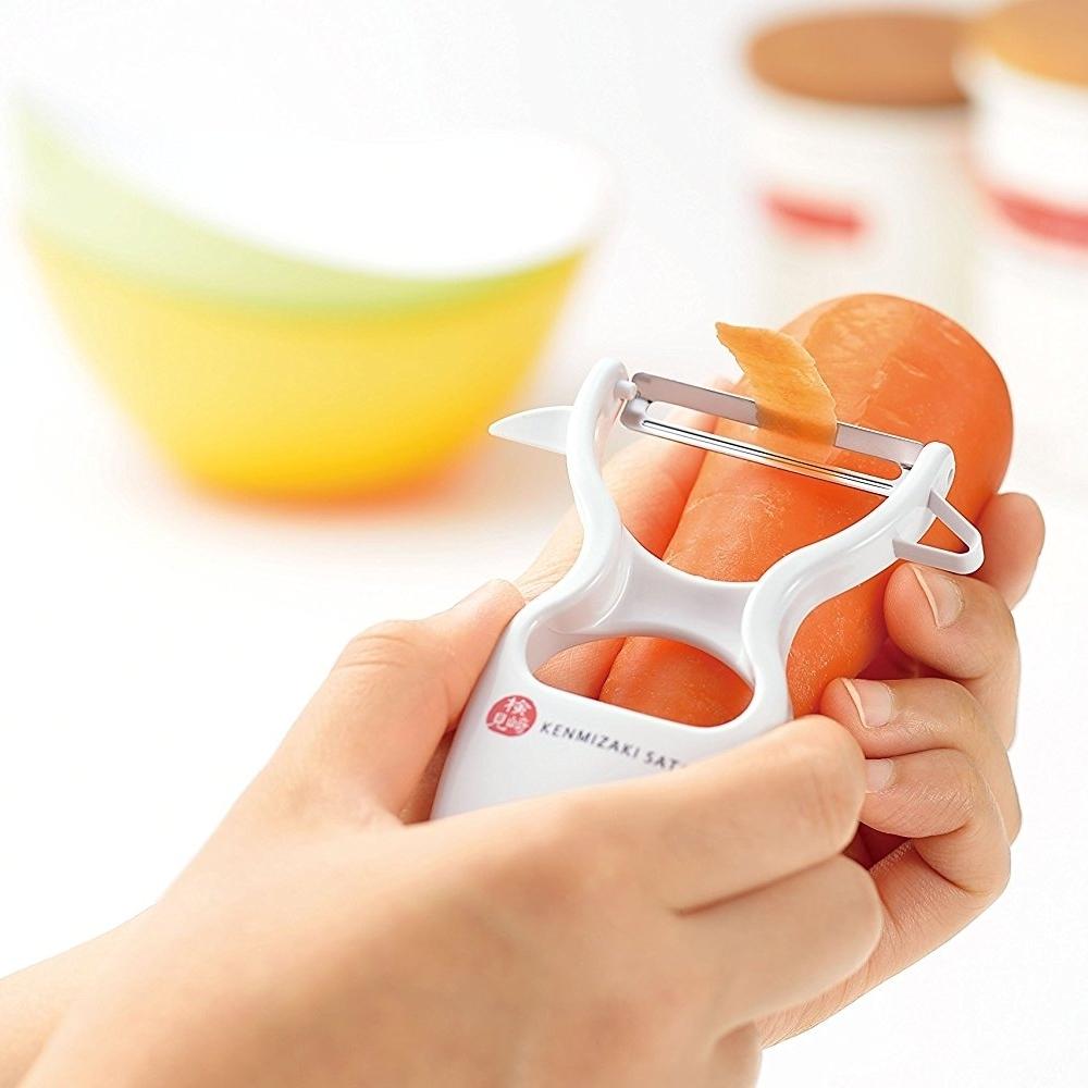 日本製造Shimomura(檢見崎聰美)四合一蔬果削皮器