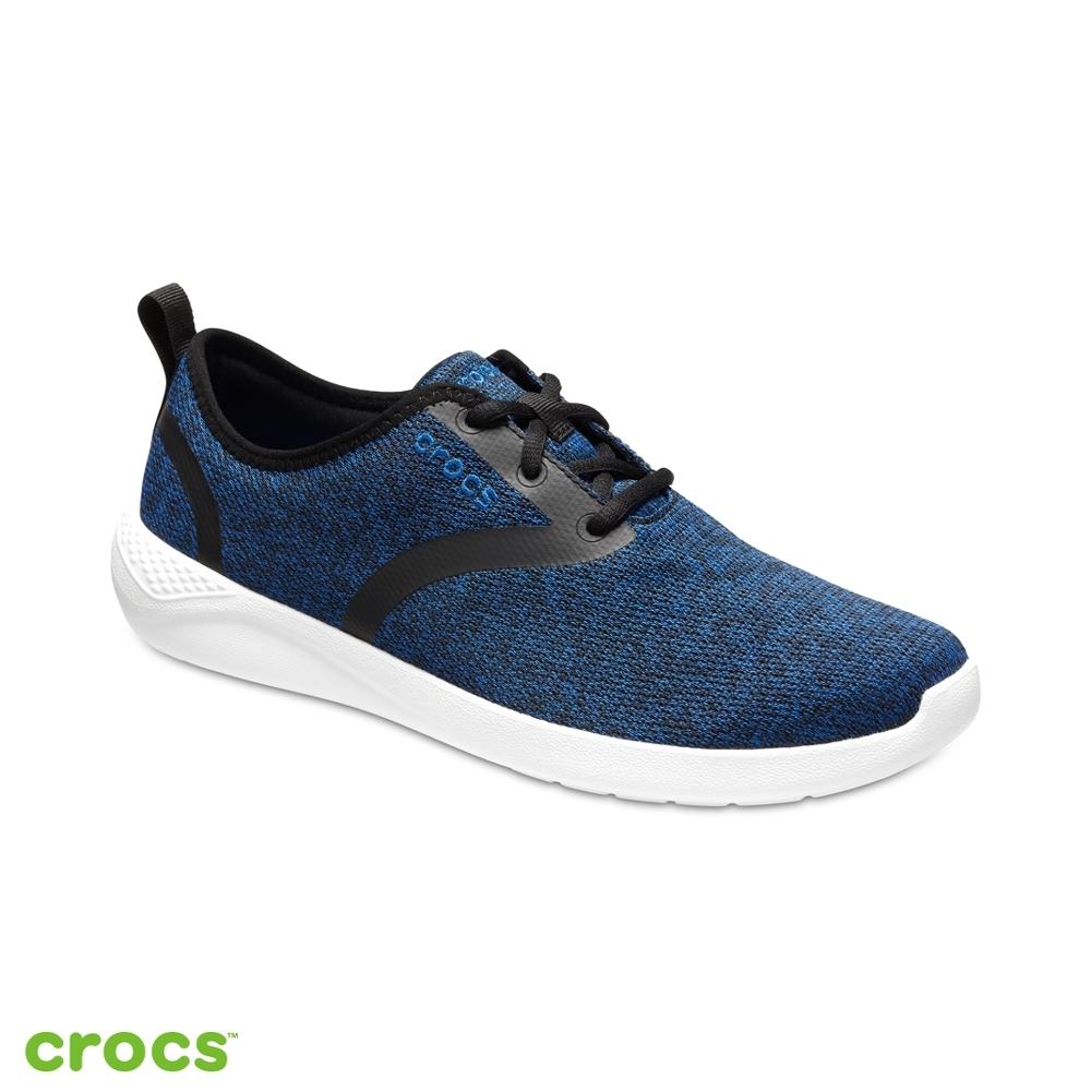 Crocs卡駱馳 (男鞋) LiteRide繫帶鞋-205162-4HB