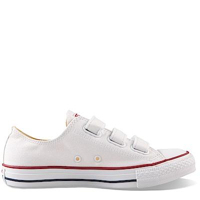 CONVERSE-男女休閒鞋105042-白