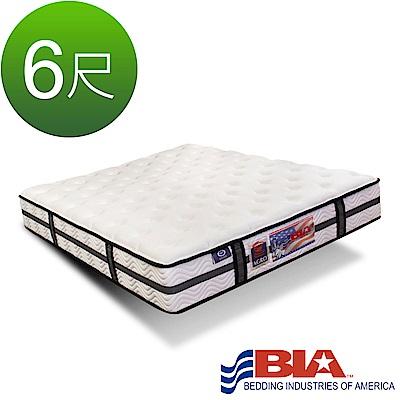 美國BIA名床-Detroit 獨立筒床墊-6尺加大雙人