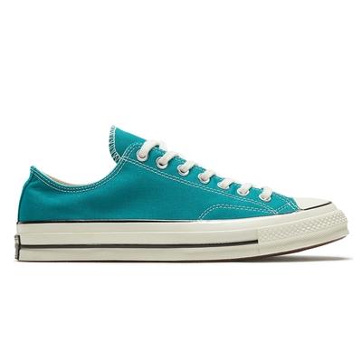 CONVERSE CHUCK 70 OX 男女 百搭 休閒鞋 藍綠色-167702C