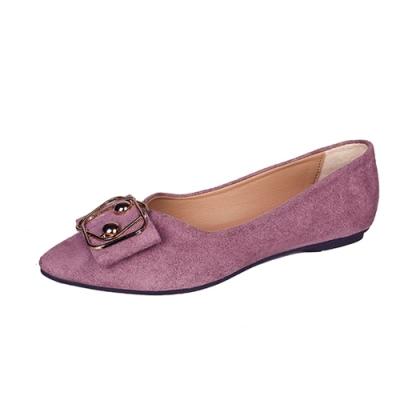 KEITH-WILL時尚鞋館 時尚OL通平底鞋-紫色
