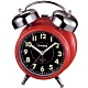 CASIO 雙響音指針鬧鐘(TQ-362-4A)紅殼x黑面 product thumbnail 1