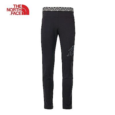 The North Face北面男款黑色防潑水運動長褲 | 3GJ7JK3