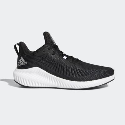 adidas 慢跑鞋 緩震 透氣 運動 休閒 男鞋 黑 EG1452 ALPHABOUNCE