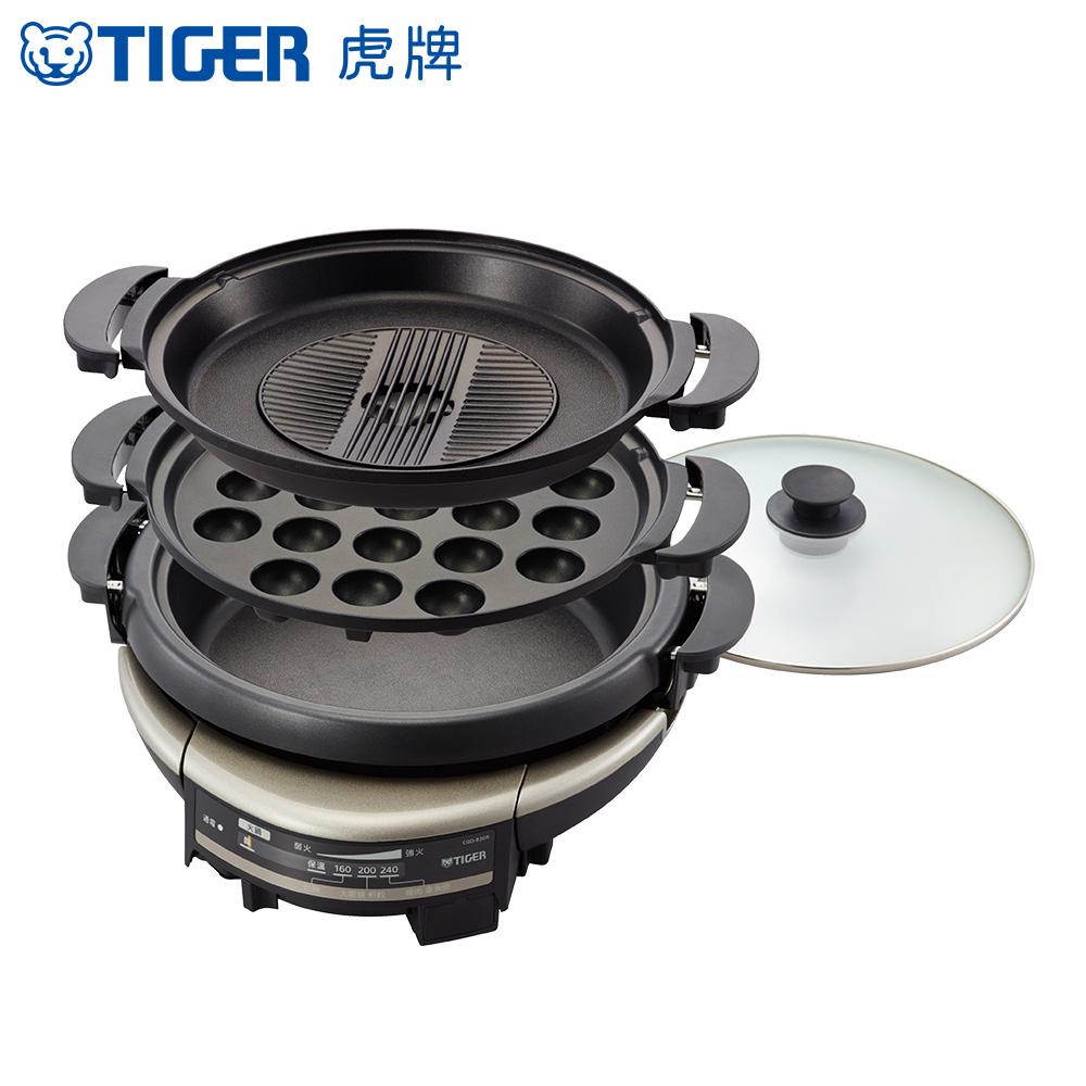 TIGER虎牌 5.0L三合一多功能萬用電火鍋(CQD-B30R